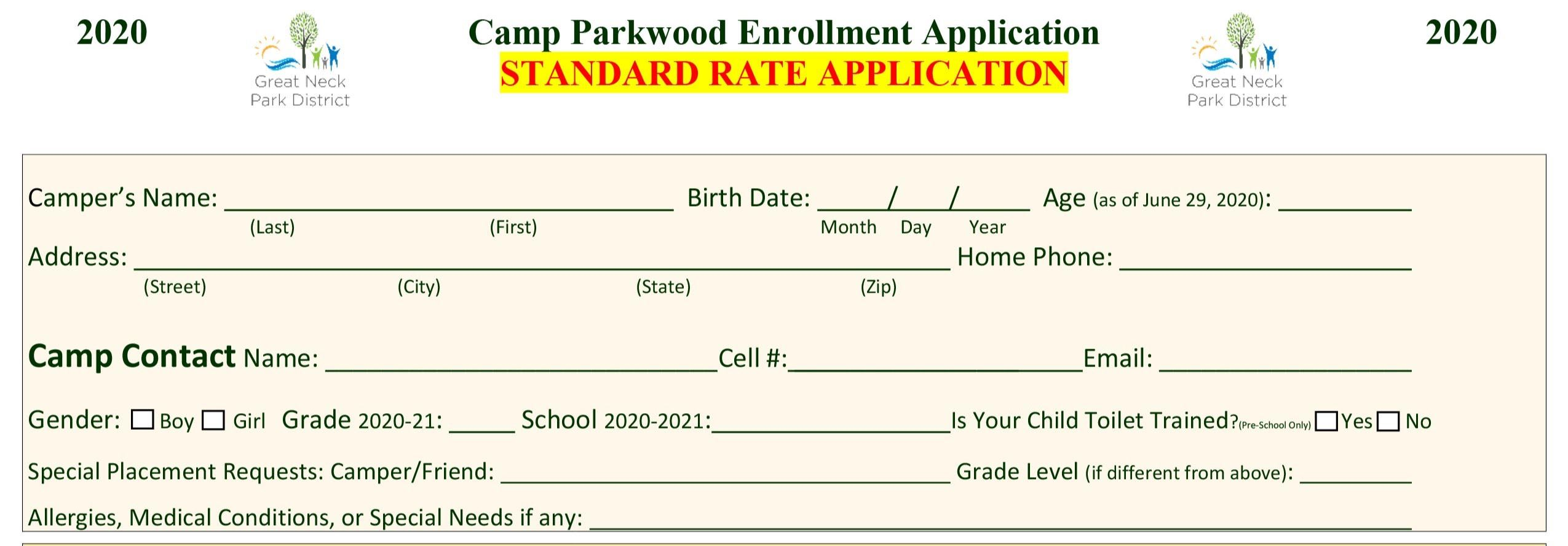 2020 Standard Rate Application-1